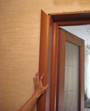 установка межкомнатных дверей своими силами
