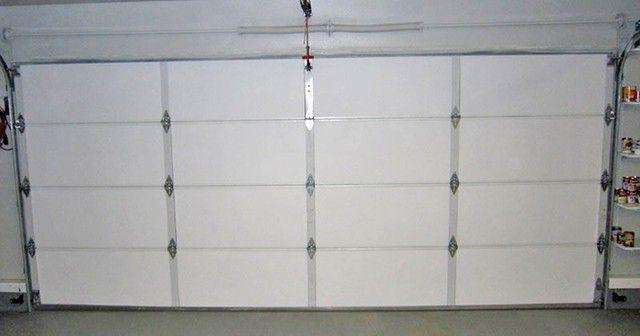 Как утеплить гаражную дверь