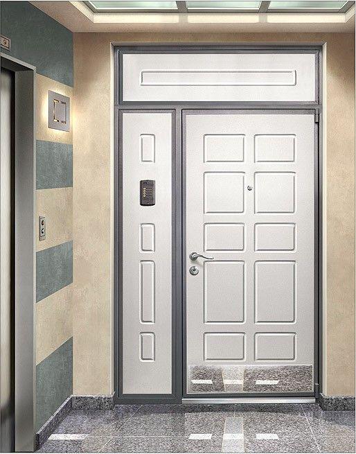 Входные двери с фрамугами
