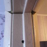 Внешний вид установленной двери
