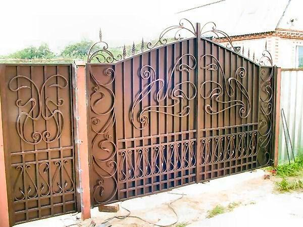 ворота кованые своими руками